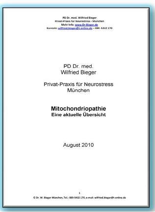 Mitochondriopathien