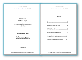 Pathophysiologie des Entzündungsprozesses - Inflammation Teil I